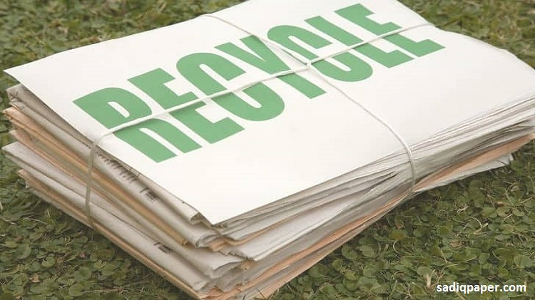 what-is-recycled-paper