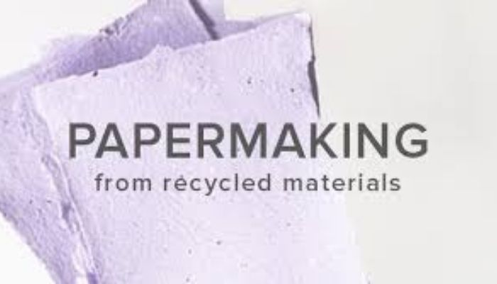 Handmade Paper From Recycled Materials